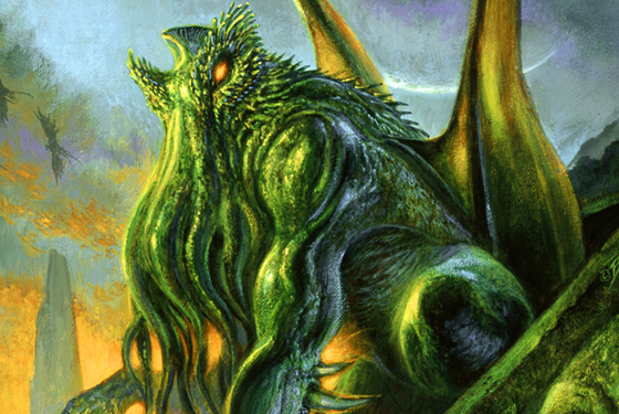 Artists Inspired by H P  Lovecraft